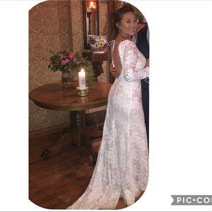 HOLLY BACKLESS LACE Bridal wedding UNDERWIRE 34DD